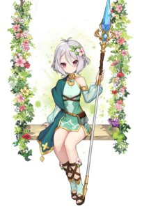 Rating: Questionable Score: 32 Tags: dress kokkoro pointy_ears princess_connect tomto_mood weapon User: Dreista