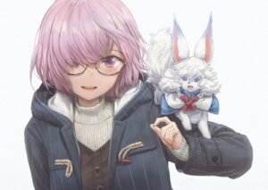 Rating: Safe Score: 25 Tags: fate/grand_order mash_kyrielight megane sweater yohan1754 User: Anonymous