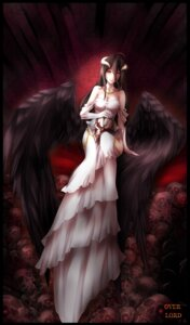 Rating: Safe Score: 44 Tags: albedo_(overlord) cleavage dress horns overlord senjou_satsuki tagme wings User: charunetra