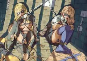 Rating: Explicit Score: 41 Tags: bondage breasts cum dildo feet fire_emblem_three_houses gorudazo ingrid_(fire_emblem) mercedes_(fire_emblem) nipples no_bra nopan open_shirt pantyhose pussy pussy_juice thighhighs torn_clothes User: Mr_GT