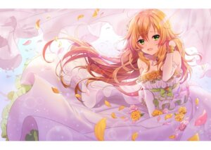Rating: Safe Score: 31 Tags: cleavage dress hoshii_miki the_idolm@ster usano wedding_dress User: Nepcoheart