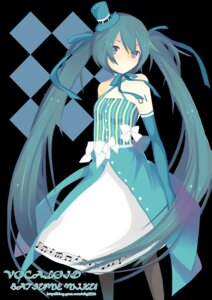 Rating: Safe Score: 18 Tags: dress fei_renlei hatsune_miku pantyhose vocaloid User: fireattack