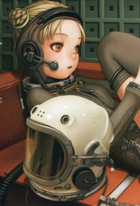 Rating: Questionable Score: 14 Tags: bodysuit headphones range_murata tagme thighhighs User: Radioactive