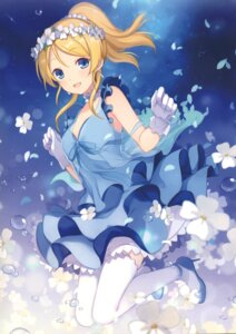 Rating: Safe Score: 47 Tags: 6u ayase_eli dress heels love_live! tagme thighhighs User: b923242