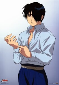 Rating: Safe Score: 6 Tags: eyepatch fullmetal_alchemist inadome_kazumi male roy_mustang User: charunetra