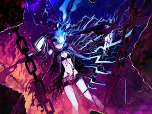 Rating: Safe Score: 19 Tags: bikini_top black_rock_shooter black_rock_shooter_(character) blood shigehiro vocaloid wallpaper User: yumichi-sama