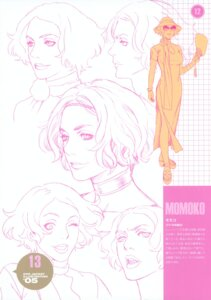 Rating: Safe Score: 5 Tags: character_design momoko_(shangri-la) monochrome range_murata shangri-la trap User: petopeto