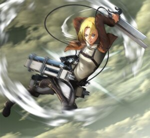 Rating: Safe Score: 11 Tags: shingeki_no_kyojin sword tagme User: Radioactive