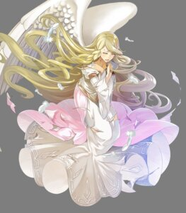 Rating: Questionable Score: 5 Tags: angel dress fire_emblem fire_emblem:_souen_no_kiseki fire_emblem_heroes leanne nintendo tagme torn_clothes transparent_png wings yura User: Radioactive