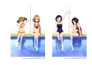 Rating: Questionable Score: 66 Tags: asuna_(sword_art_online) ayano_keiko bikini cleavage kirigaya_suguha nakamura_naoto school_swimsuit shinozaki_rika swimsuits sword_art_online wet User: drop