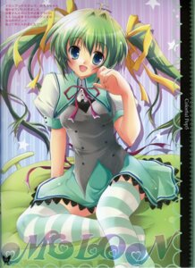 Rating: Safe Score: 15 Tags: hisuitei izumi_tsubasu melon-chan melonbooks seifuku thighhighs User: admin2