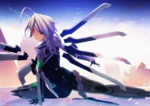 Rating: Safe Score: 21 Tags: blazblue hell_machina heterochromia mecha_musume v-13 User: Radioactive