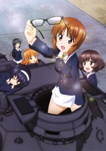 Rating: Safe Score: 11 Tags: akiyama_yukari girls_und_panzer isuzu_hana megane nishizumi_miho reizei_mako takebe_saori uniform User: drop