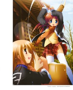 Rating: Safe Score: 19 Tags: 5_nenme_no_houkago kantoku thighhighs User: Kalafina
