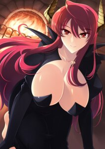 Rating: Safe Score: 39 Tags: cleavage dress haganef horns maou_(maoyuu_maou_yuusha) maoyuu_maou_yuusha no_bra User: mash