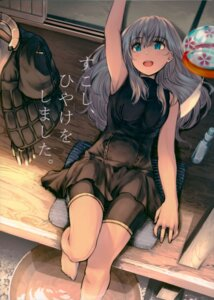 Rating: Safe Score: 32 Tags: bike_shorts dress kantai_collection tagme u-511 wet User: Radioactive