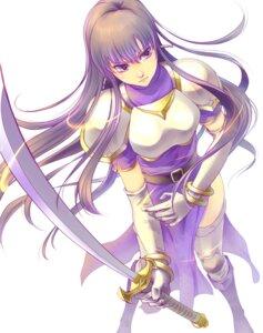 Rating: Safe Score: 22 Tags: armor fire_emblem ira_(fire_emblem) soutoco sword thighhighs User: mash