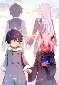 Rating: Safe Score: 9 Tags: darling_in_the_franxx hiro_(darling_in_the_franxx) horns hoshizaki_reita uniform zero_two_(darling_in_the_franxx) User: sym455
