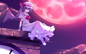 Rating: Safe Score: 22 Tags: frac motomiya_mitsuki remilia_scarlet touhou wallpaper User: WtfCakes