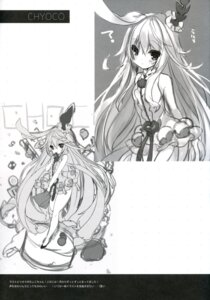 Rating: Questionable Score: 8 Tags: animal_ears bunny_ears choko_(last_period) dress last_period monochrome p19 practice sketch User: Radioactive