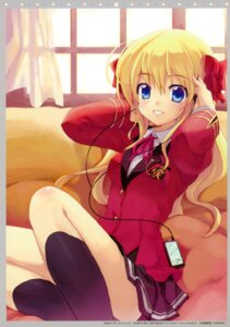 Rating: Safe Score: 30 Tags: fortune_arterial headphones minamura_halki seifuku sendou_erika twinklesnows User: midzki