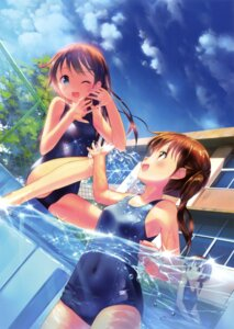 Rating: Safe Score: 65 Tags: school_swimsuit swimsuits takoyaki wet User: Twinsenzw