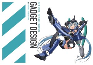 Rating: Questionable Score: 4 Tags: frame_arms_girl stylet User: Halcon_Negro