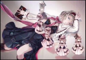 Rating: Safe Score: 38 Tags: alice_margatroid crease miyuki_ruria shanghai_doll touhou User: Brufh