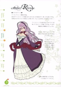 Rating: Safe Score: 15 Tags: atelier atelier_rorona cleavage dadacha! dress ooba_kagerou pamela_ibis sobaworks User: blooregardo