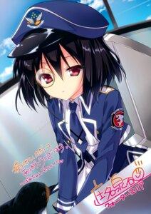 Rating: Safe Score: 22 Tags: autographed hyuga_tsubame megane shouna_mitsuishi uniform valkyrie_impulse User: Hatsukoi