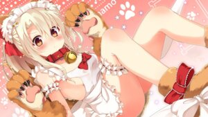 Rating: Questionable Score: 108 Tags: animal_ears cosplay fate/kaleid_liner_prisma_illya fate/stay_night garter illyasviel_von_einzbern naked_apron sasahara_wakaba tail wallpaper User: Mr_GT