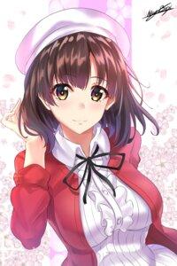 Rating: Safe Score: 25 Tags: dress katou_megumi nez-box saenai_heroine_no_sodatekata User: Spidey
