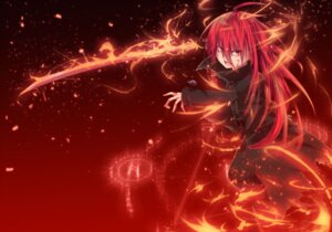 Rating: Safe Score: 19 Tags: blood nakada_daichi shakugan_no_shana shana sword torn_clothes User: charunetra