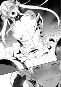 Rating: Explicit Score: 37 Tags: breasts monochrome nanao nipples sex User: kiyoe