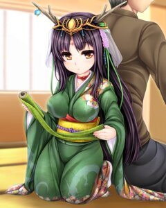 Rating: Safe Score: 26 Tags: horns kimono uni8 User: fairyren