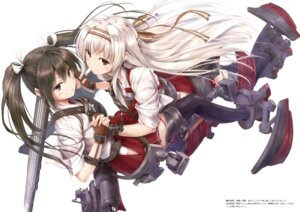 Rating: Safe Score: 51 Tags: kantai_collection shoukaku_(kancolle) suien thighhighs zuikaku_(kancolle) User: Twinsenzw