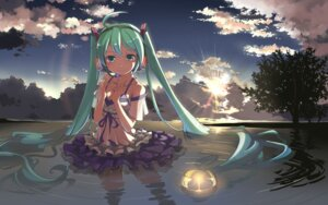 Rating: Safe Score: 77 Tags: beek cleavage hatsune_miku vocaloid wallpaper User: topcdmouse