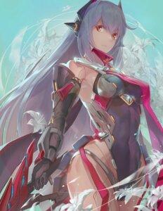 Rating: Safe Score: 47 Tags: armor badluck hana_(xenoblade) leotard mecha_musume sword xenoblade xenoblade_chronicles_2 User: mash