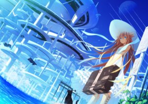 Rating: Safe Score: 58 Tags: dress ia_(vocaloid) katou_itsuwa neko summer_dress vocaloid User: fireattack