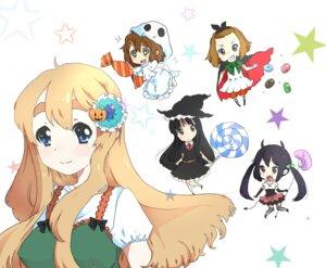 Rating: Safe Score: 11 Tags: akiyama_mio chibi devil futomayu halloween hirasawa_yui k-on! kotobuki_tsumugi nakano_azusa tainaka_ritsu witch User: Nekotsúh