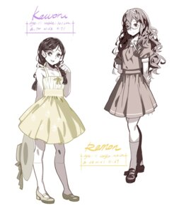 Rating: Safe Score: 18 Tags: alphonse digital_version dress heels megane profile_page seifuku sketch summer_dress white_datura User: Radioactive