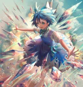 Rating: Safe Score: 16 Tags: cirno touhou wings ze_xia User: Mr_GT