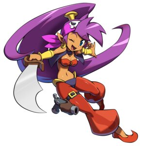 Rating: Questionable Score: 9 Tags: bikini_top cleavage gun shantae shantae_(character) sword User: Yokaiou