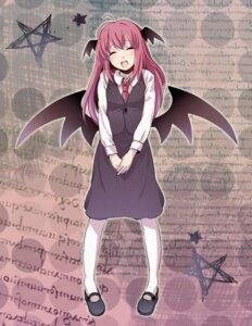 Rating: Safe Score: 1 Tags: koakuma touhou wings yuko_(pixiv862266) User: Radioactive