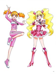 Rating: Safe Score: 3 Tags: dress fresh_pretty_cure! gym_uniform heels pretty_cure User: drop