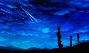 Rating: Safe Score: 25 Tags: kimi_no_na_wa landscape miyamizu_mitsuha natori_sayaka silhouette teshigawara_katsuhiko User: hrbzz
