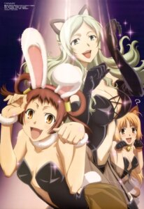 Rating: Questionable Score: 38 Tags: animal_ears bunny_ears canaan cleavage hakkoo nekomimi oosawa_maria pantyhose sekiguchi_kanami yunyun User: Aurelia
