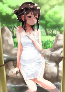 Rating: Questionable Score: 82 Tags: akemi_homura bathing naked puella_magi_madoka_magica rin2008 towel wet User: Mr_GT