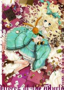 Rating: Safe Score: 19 Tags: dress kuramoto_kaya lolita_fashion pieces_of_the_world User: Imbir