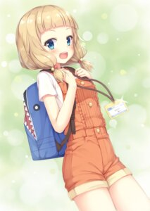 Rating: Safe Score: 79 Tags: new_game! overalls sakura_nene tomifumi User: Mr_GT